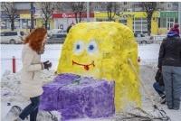 Конкурс снежных фигур «Снежная фантазия»