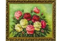 Выставка в галерее «Парабола» художницы Эльзы Васильевны Калюжной «Цветочный вальс»